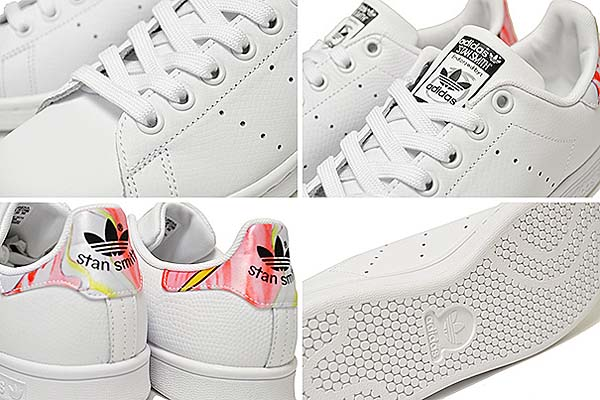 adidas STAN SMITH Rita Ora [FTWR WHITE / FTWR WHITE / CORE BLACK] B34068