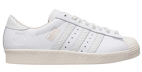 adidas olginals SUPERSTAR 80v UNDEFEATED CONSORTIUM 10th ANNIVERSARY [CORE WHITE/CORE BLACK/CORE WHITE] B34077