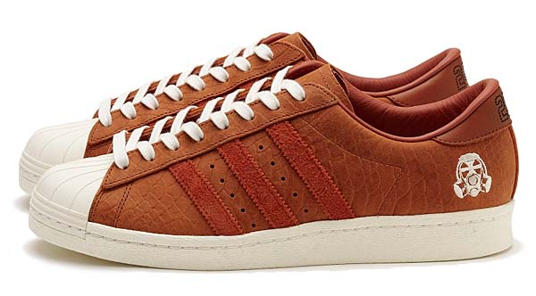 adidas olginals SUPERSTAR 80s FOOTPATROL CONSORTIUM 10th ANNIVERSARY [FOXRED / FOXRED / CHALK WHITE] B34078
