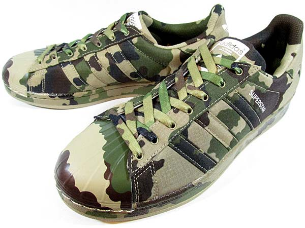 adidas originals SUPERSTAR GRAPHIC PACK CAMO [HEMP / CORE BLACK / RUNNING WHITE] B35403