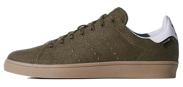 adidas SKATEBORDING STAN SMITH VULC HEMP [DRKCAR / FTWWHT / GUM] C76950