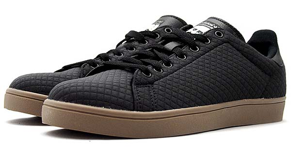 adidas skateboarding STAN SMITH VULC [CARBON S14 / CORE BLACK / GUM5] D68842