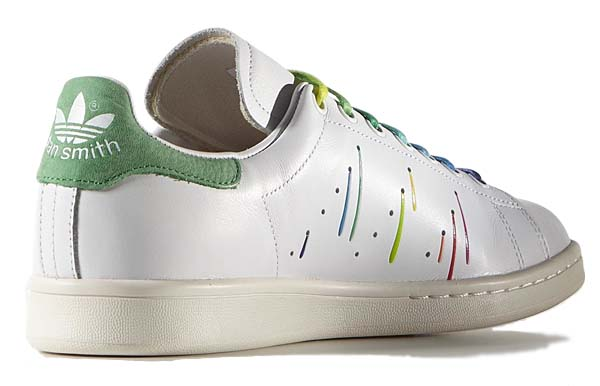 adidas Originals STAN SMITH PRIDE PACK [WHITE / WHITE / GREEN] D70352