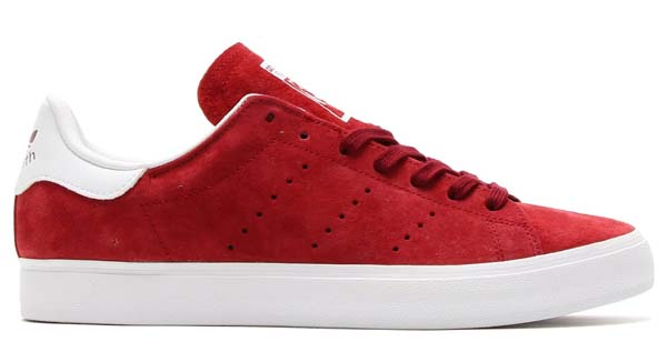adidas Originals STAN SMITH VULC [COLLEGIATE BURGUNDY / RUNNING WHITE] M17186