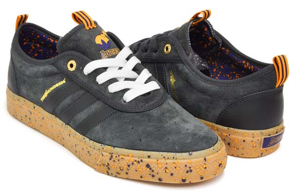 adidas skateboarding ADI-EASE ADV x THE HUNDRED LOS ANGELES LAKERS [DGSOGR / RGPUNB / GOLSLD] Q16688