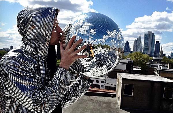 Silver Reversible Disco Hoodie Disco_Hoodie