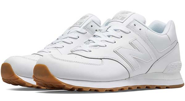 new balance NB574 BAA [WHITE/GUM] 574