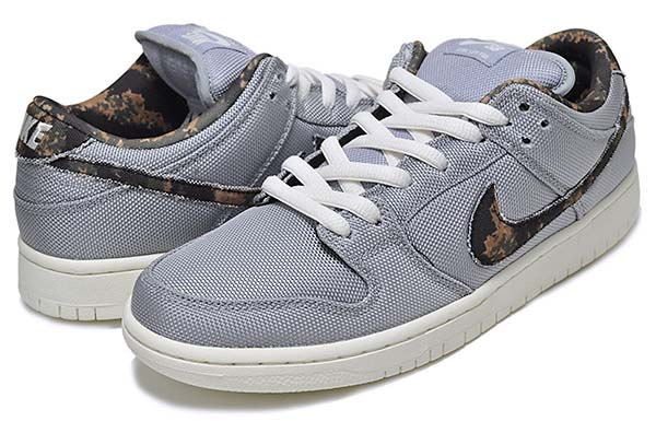 NIKE DUNK LOW PRO SB [WOLF GREY / MEDIUM OLIVE-SAIL] 304292-054