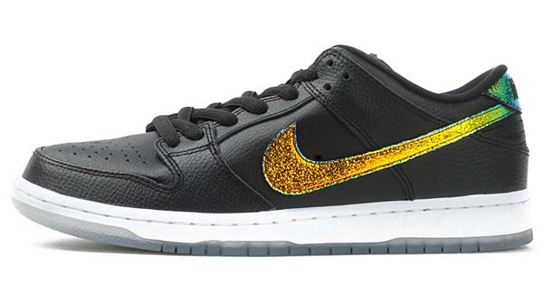 NIKE DUNK LOW PRO SB [BLACK / WHITE / MULTI] 304292-091