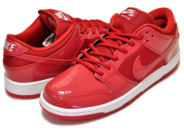 NIKE DUNK LOW PRO SB [VRSTY RED / WHITE-VRSTY RD-WHITE] 304292-616