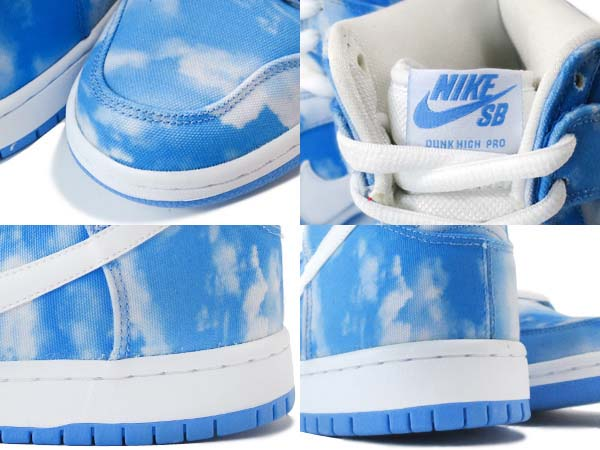 NIKE DUNK HIGH PRO SB [UNVRSTY BLUE / WHITE-UNVRSTY BL] 305050-414