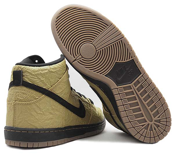 NIKE DUNK HIGH PREMIUM SB [FILBERT / BLACK-GUM DARK BROWN] 313171-202