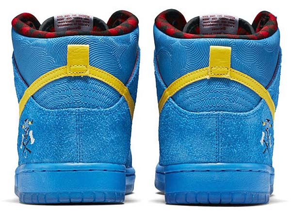 NIKE DUNK HIGH PREMIUM SB QS FAMILIA [PHOTO BLUE / TOUR YELLOW-WHITE] 313171-471