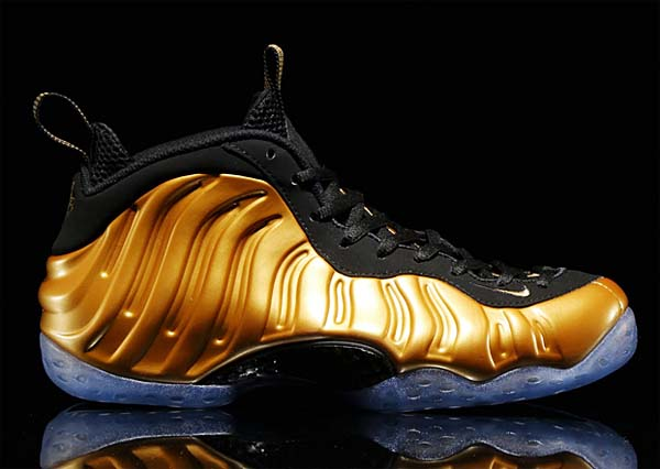 NIKE AIR FOAMPOSITE ONE [METALLIC GOLD / METALLIC GOLD-BLACK] 314996-700