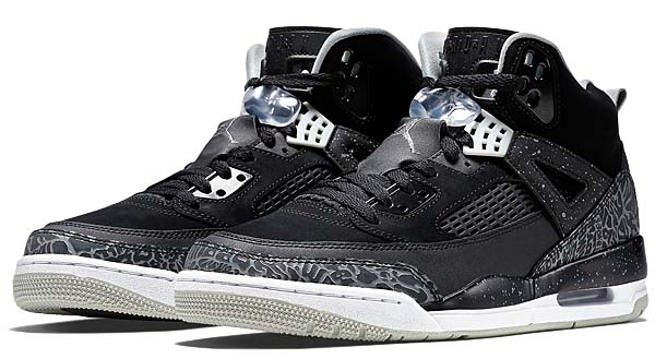 NIKE JORDAN SPIZIKE [BLACK / COOL GREY-GREY MIST-WHITE] 315371-004