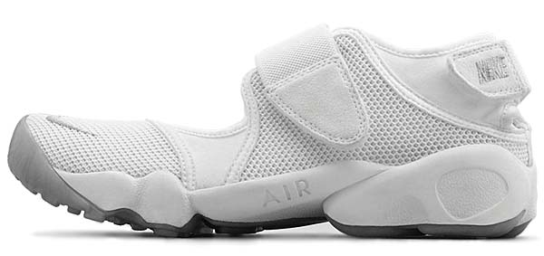 NIKE WMNS AIR RIFT [WHITE / WOLF GREY] 315766-110