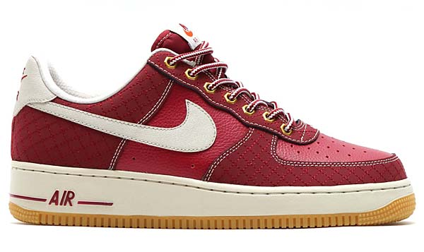 NIKE AIR FORCE 1 LOW WORKBOOT [TEAM RED / LIGHT BONE-GUM LIGHT BROWN] 488298-625