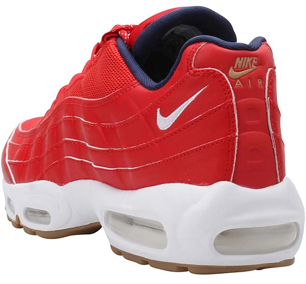 NIKE AIR MAX 95 PREMIUM INDEPENDENCE DAY [UNIVERSITY RED / WHITE-MID NAVY] 538416-614