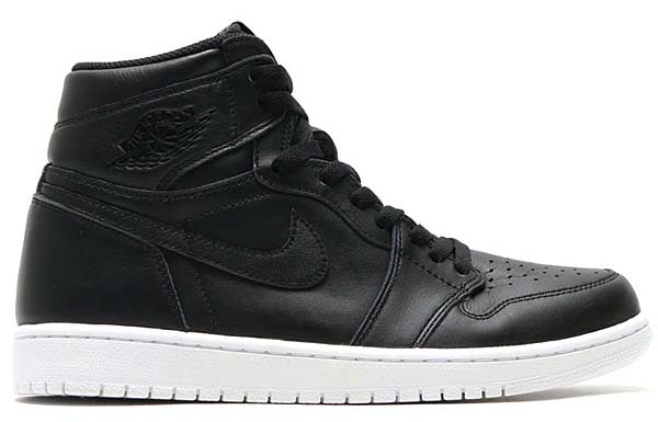 NIKE AIR JORDAN 1 RETRO HIGH OG [BLACK / BLACK-WHITE] 555088-006