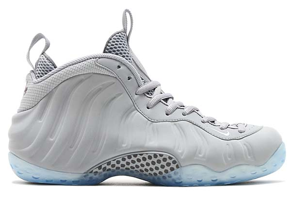 NIKE AIR FOAMPOSITE ONE PRM [WOLF GREY / WHITE-COOL GREY-BLACK] 575420-007