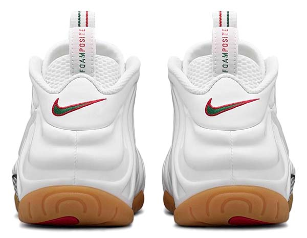 NIKE AIR FOAMPOSITE PRO GUCCI [WHITE / WHITE-GYM RED-GORGE GREEN] 624041-102