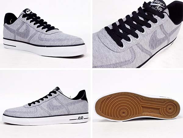 NIKE AIR FORCE 1 AC [WOLF GREY / WOLF GREY-BLACK-WHITE] 630939-007