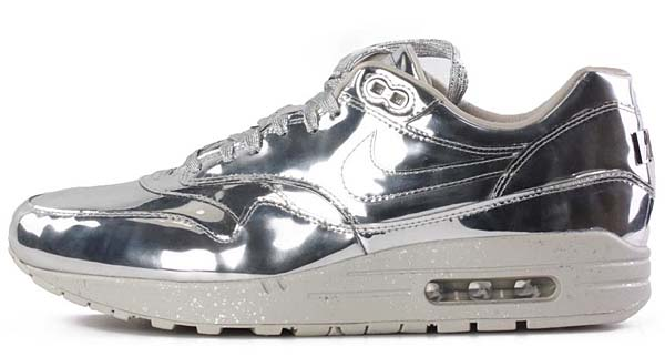NIKE AIR MAX 1 SP LIQUID METAL [SILVER METALLIC] 635786-002