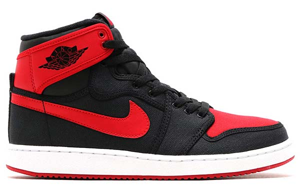 NIKE AIR JORDAN 1 KO HIGH OG [BLACK / VARSITY RED-WHITE] 638471-001