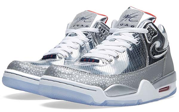 NIKE AIR FLIGHT SQUAD QS SAFARI [METALLIC SILVER / MID NAVY] 679260-002