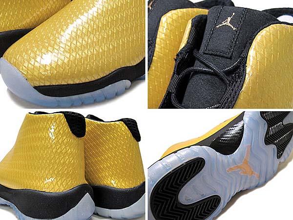 NIKE AIR JORDAN FUTURE GS [METALLIC GOLD/BLACK] 685251-990