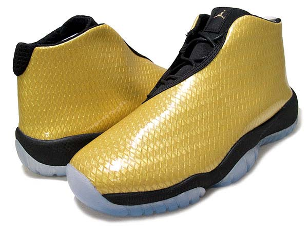 NIKE AIR JORDAN FUTURE GS [METALLIC GOLD/BLACK] 685251-990