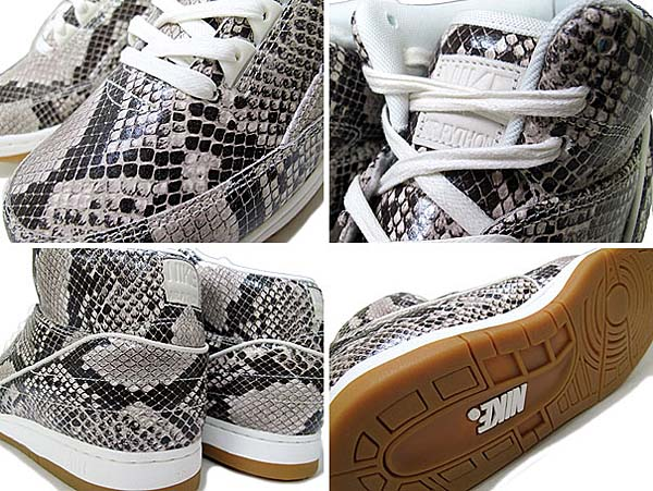 NIKE AIR PYTHON PREMIUM [BROWN / SAIL-GUM LIGHT BROWN-LIGHT STONE] 705066-201
