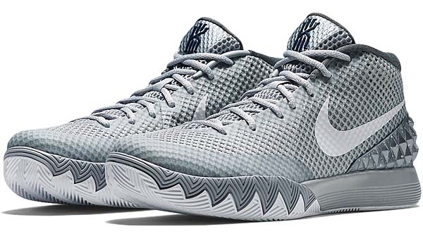 NIKE KYRIE 1 EP [WOLF GREY / WHITE-PURE PLATINUM-MIDNIGHT NAVY] 705278-010