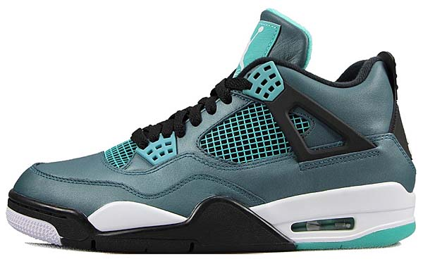 NIKE AIR JORDAN 4 RETRO 30th ANNIVERSARY [TEAL / WHITE-BLACK-RETRO] 705331-330