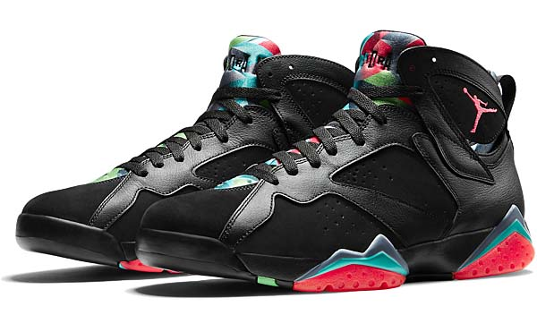 NIKE AIR JORDAN 7 RETRO 30th ANNIVERSARY MARVIN THE MARTIAN [BLACK / INFRARED 23-BLUE GRAPHITE-RETRO NOIR] 705350-007