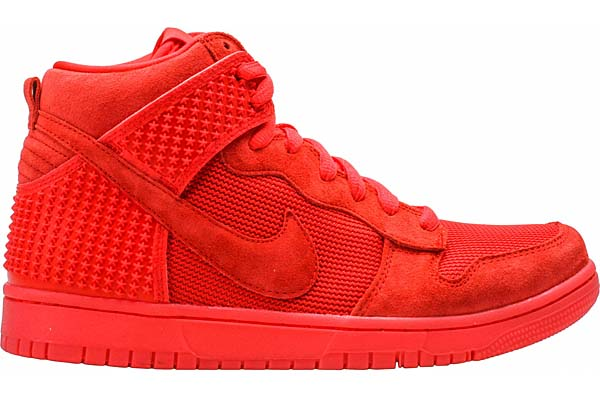 NIKE DUNK CMFT PREMIUM RED OCTOBER [LIGHT CRIMSON] 705433-601