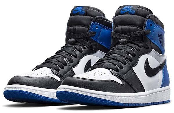 NIKE AIR JORDAN 1 x Fragment Design [WHITE/SPORT ROYAL-BLACK] 716371-040