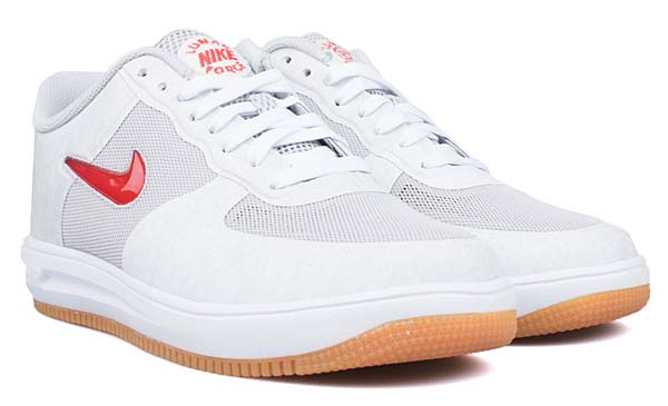NIKE x CLOT LUNAR FORCE 1 FUSE SP [NEUTRAL GREY / UNIVERSITY RED-GAME ROYAL-WHITE] 717303-064