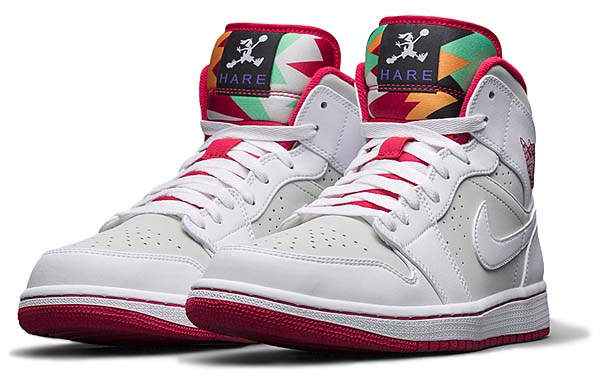NIKE AIR JORDAN 1 MID WB [WHITE/TRUE RED-LIGHT SILVER-BLK] 719551-123
