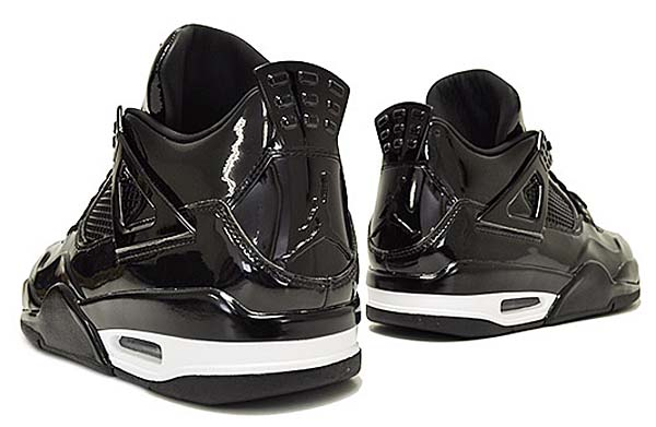 NIKE AIR JORDAN RETRO 11LAB4 BLACK PATENT [BLACK/BLACK-WHITE] 719864-010