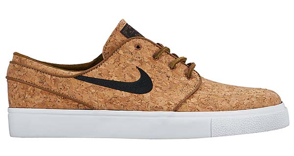 NIKE ZOOM STEFAN JANOSKI ELITE CORK [ALE BROWN / BLACK-WHITE] 725074-201