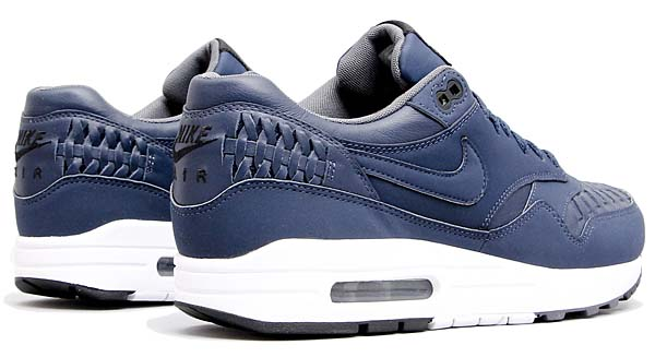 NIKE AIR MAX 1 WOVEN [WOVEN MIDNIGHT NAVY / BLACK / DARK GREY] 725232-400