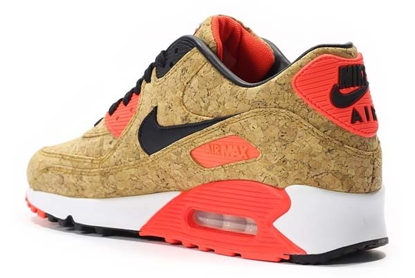 NIKE AIR MAX 90 ANNIVERSARY [BRONZE / BLACK - INFRARED - WHITE] 725235-706