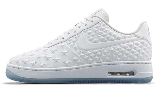 NIKE AIR FORCE 1 ELITE AS QS 2015 NBA ALLSTAR GAME / NEW YORK [WHITE / WHITE-CHROME] 744308-100