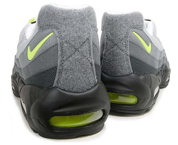NIKE AIR MAX 95 V SP PATCH PACK [WHITE / NEON YELLOW-BLACK-ANTHRCT] 747137-170