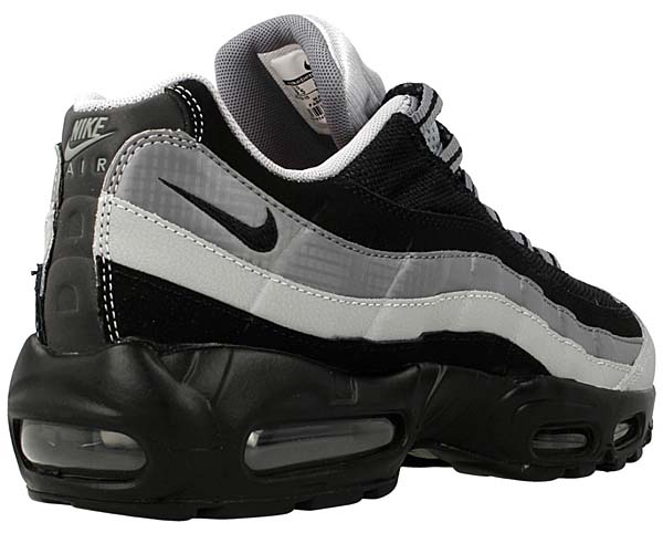 NIKE AIR MAX 95 ESSENTIAL [BLACK / GREY / CITRUS] 749766-005