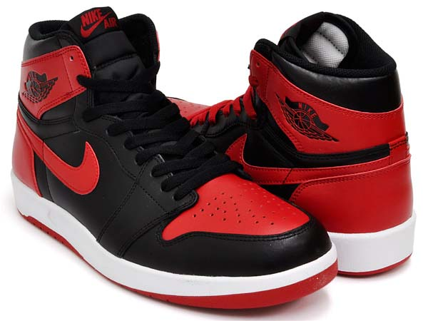 NIKE AIR JORDAN 1 THE RETURN BRED [BLACK / TRUE RED-WHITE] 768861-001