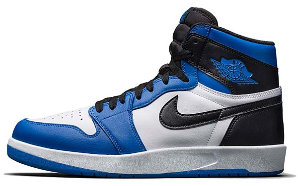 NIKE AIR JORDAN 1 HIGH THE RETURN [WHITE / BLACK-SOAR BLUE] 768861-106
