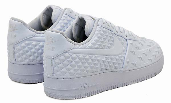 NIKE AIR FORCE 1 LV8 VT [WHITE / WHITE-WHITE] 789104-100