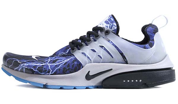 NIKE AIR PRESTO BR QS [BLACK / BLACK-ZEN GREY - HARBOUR BLUE] 789870-004